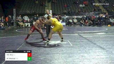 285 lbs Prelims - Max Ihry, Northern Illinois vs Matt Stencel, Central Michigan