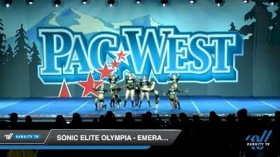 Sonic Elite Olympia - Emerald Queens [2020 L1 Senior - Small Day 1] 2020 PacWest
