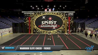 Warrior Elite Cheer - Fierce [2021 L2 Junior - Small] 2021 PA Championship