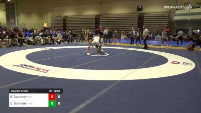 Quarterfinal - Brandon Courtney, Arizona State vs Devin Schroder, Purdue