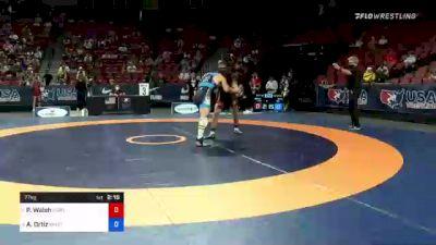 77 kg Con Semis - Peyton Walsh, Marines vs Alec Ortiz, Minnesota Storm