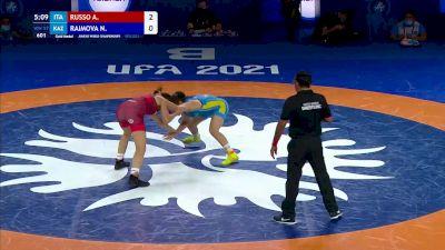 57 kg Final - Aurora Russo, ITA vs Nilufar Raimova, KAZ