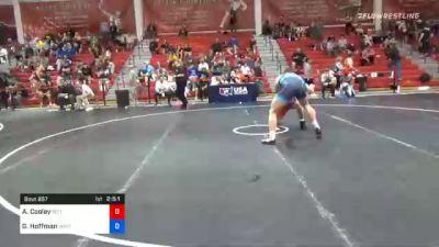 97 kg Consolation - Austin Cooley, Pittsburgh Wrestling Club vs Gavin Hoffman, Ohio Regional Training Center