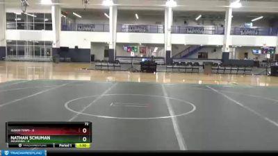 120 lbs Round 3 - Trenton Sigler, Unattached vs Andrew Binni, Unattached