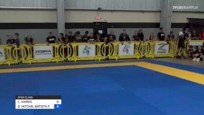 LUKE HARRIS vs DENIS MITCHEL BATISTA PINTO 2021 Pan IBJJF Jiu-Jitsu No-Gi Championship