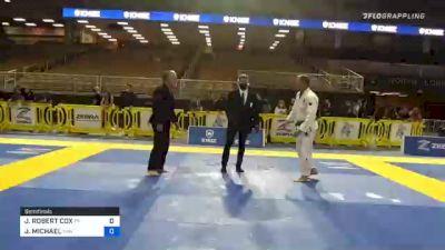 JAMES ROBERT COX vs JAMES MICHAEL 2020 World Master IBJJF Jiu-Jitsu Championship