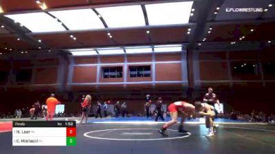 152 lbs Final - Nolan Lear, PA vs Enzo Morlacci, PA
