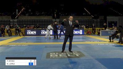 MATHEUS GABRIEL vs LEONARDO SAGGIORO 2019 Pan Jiu-Jitsu IBJJF Championship