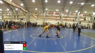 Quarterfinal - Thomas Bullard, NC State vs William Formato, Appalachian State
