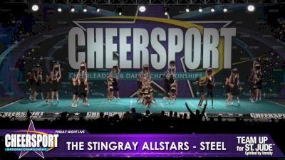 The Stingray Allstars - Marietta - Steel [2020 L6 Senior Large Coed Day 1] 2020 CHEERSPORT Nationals: Friday Night Live