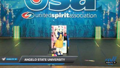 Angelo State University [2020 Mascot Day 2] 2020 USA Collegiate Championships