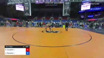 152 lbs Consi Of 8 #1 - Sean Coughlin, Virginia vs Jeremy Paradice, Georgia