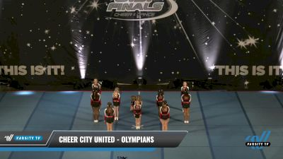 Cheer City United - OLYMPIANS [2021 L1 Youth - D2 - Small - A Round] 2021 The U.S. Finals: Pensacola
