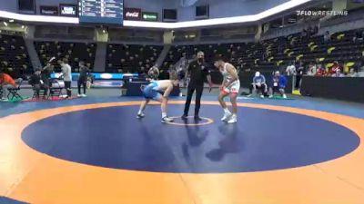 79 kg Consolation - Trent Munoz, California vs Manuel Rojas, Michigan