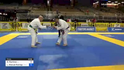 Bardomiano Martinez vs Luis Manuel Rodriguez 2020 World Master IBJJF Jiu-Jitsu Championship
