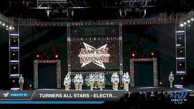 Turners All Stars - Electric Blue [2020 L5 Senior - D2 - Small - B Day 1] 2020 JAMfest Cheer Super Nationals