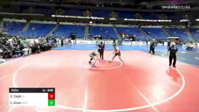 160 lbs Final - Gavin Cagle, Tennessee vs Cesar Alvan, New England