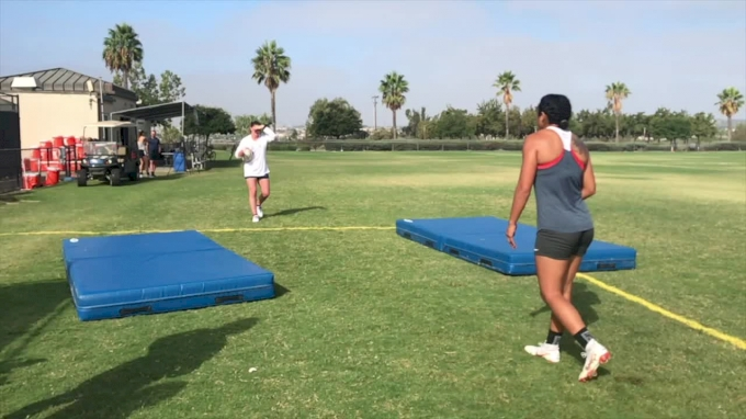 Eagle Women 7s Tackling And Contact