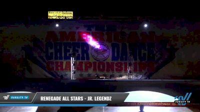 Renegade Allstars - Jr Legendz [2021 L2 Junior - D2 - Medium Day 1] 2021 The American Celebration DI & DII