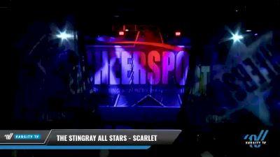 The Stingray All Stars - Scarlet [2021 L3 Junior - Medium - A Day 2] 2021 CHEERSPORT National Cheerleading Championship