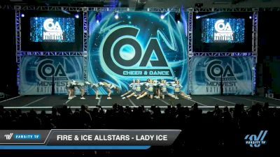 Fire & Ice Allstars - Lady ICE [2020 L6 Senior - Small Day 2] 2020 COA: Midwest National Championship