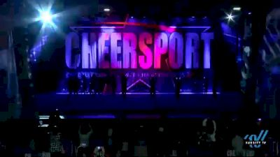 Synergy Athletics All-Stars - Midnight [2021 L4 Senior Coed - D2 - Small Day 1] 2021 CHEERSPORT National Cheerleading Championship
