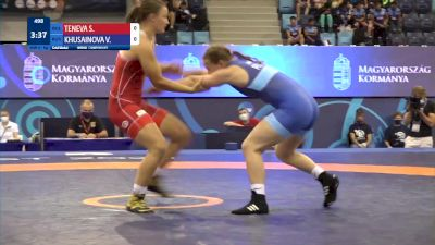 61 kg Final 1-2 - Sofi Stefanova Teneva, Bulgaria vs Viktoriia Khusainova, Russia