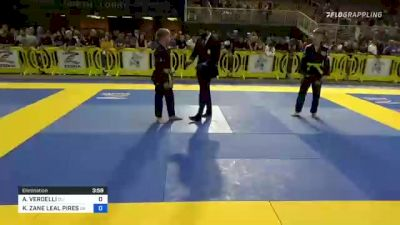BRANDON WILLIAM MCBRIDE vs CAEL ZYWOT MORGAN 2021 Pan Kids Jiu-Jitsu IBJJF Championship