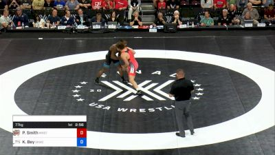 77 kg 2 Of 3 - Patrick Smith, Minnesota Storm vs Kamal Bey, Sunkist Kids Wrestling Club