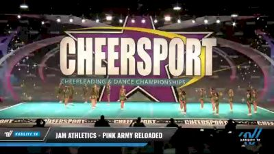 JAM Athletics - Pink Army Reloaded [2021 L1 Youth - D2 - Small - A Day 2] 2021 CHEERSPORT National Cheerleading Championship