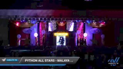 Python All Stars - Malaya Pythons [2020 L2 Junior - Small Day 2] 2020 All Star Challenge: Battle Under The Big Top