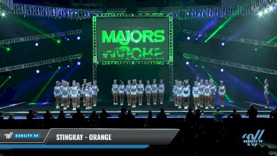 Stingray - Orange [2018 Large All Girl 5 Day 1] The Majors