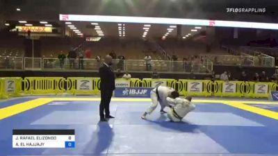 JOSE RAFAEL ELIZONDO vs ANISS EL HAJJAJY 2021 Pan Jiu-Jitsu IBJJF Championship