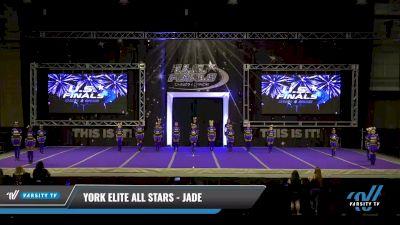 York Elite All Stars - Jade [2021 L2 Youth- D2 - B Day 2] 2021 The U.S. Finals: Ocean City