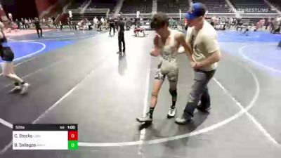 132 kg 5th Place - Dustin Demoss, Csfg vs Caleb Williams, Purebred Elite