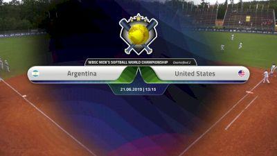 Full Replay - XVI Men's Softball World Championship - Svoboda Ballpark - Jun 21, 2019 at 6:05 AM CDT