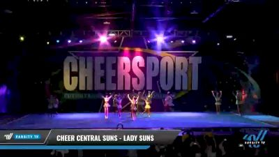 Cheer Central Suns - Lady Suns [2021 L6 Senior - XSmall Day 2] 2021 CHEERSPORT National Cheerleading Championship