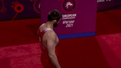 125 kg 3rd Place - Geno PETRIASHVILI (GEO) vs Dzianis KHRAMIANKOU (BLR)