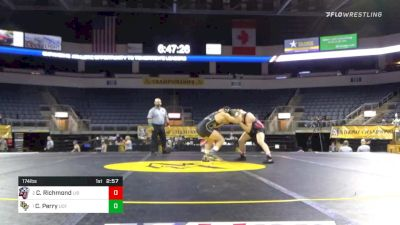 174 lbs Final - Cody Richmond, Liberty University vs Clay Perry, University Of Central Florida