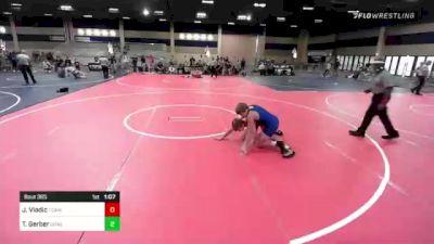 138 lbs Semifinal - Jalen Vladic, Team Montana vs Tanner Gerber, Crass Trained