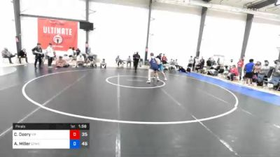 129 kg Final - Colton Deery, Malvern Prep vs Ashton Miller, Gitomer