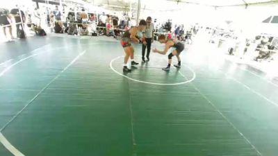 170 lbs Round Of 32 - Steven Sanchez, BRUINS ELITE vs Evan Gilbert, Church Boys