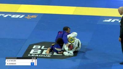 SHANE HILL-TAYLOR vs MARCIO ANDRE 2018 World IBJJF Jiu-Jitsu Championship