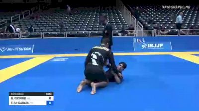 BRIAN GIORGIO vs ESTEVAN G MARTINEZ-GARCIA 2021 World IBJJF Jiu-Jitsu No-Gi Championship