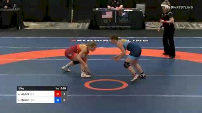 57 kg Prelims - Lauren Louive, Team Hildebrandt vs Lauren Mason, Team Francis
