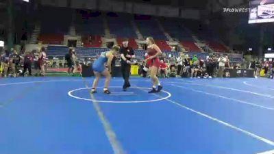 164 lbs Quarterfinal - Kylie Welker, Wisconsin vs Olivia Stean, Kansas