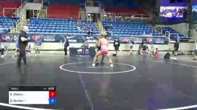 160 lbs Consi Of 16 #1 - Erik Gibson, Pennsylvania vs Brian Gordon, Virginia