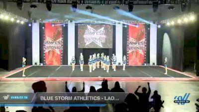 Blue Storm Athletics - LADY VORTEX [2021 L3 Senior - D2 - Small Day 2] 2021 JAMfest Cheer Super Nationals