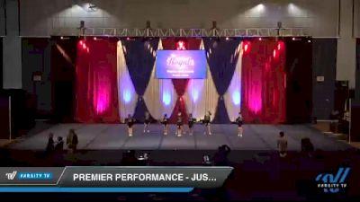 Premier Performance - Justice [2021 L1 Junior - Novice Day 1] 2021 The American Royale DI & DII