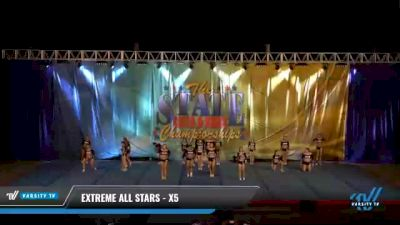 Extreme Cheer - X5 [2021 L5 Senior - D2 Day 2] 2021 The STATE DI & DII Championships
